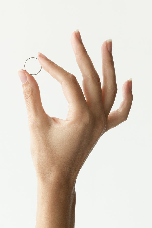 Dainty knuckle ring