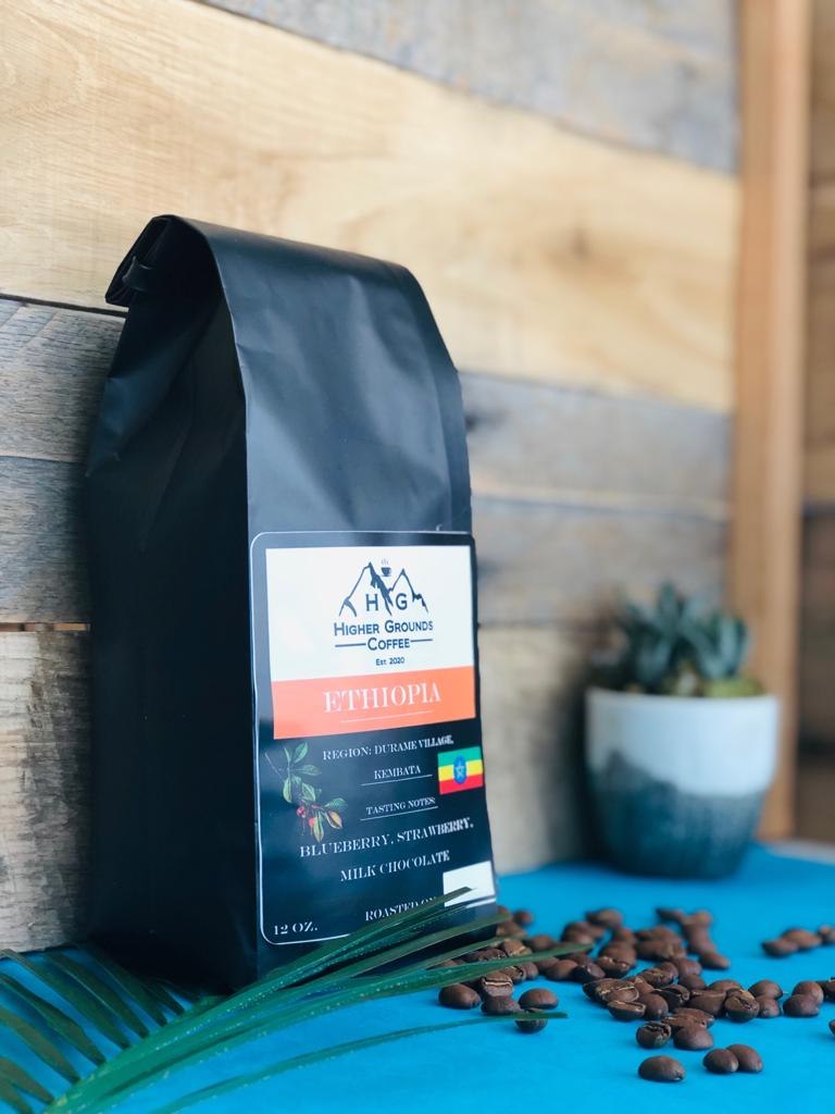 Ethiopia Kembata, Durame Village Fresh Custom Roasted Coffee Beans