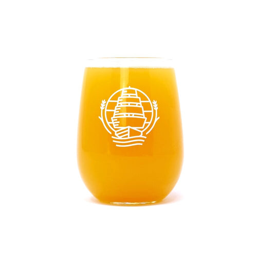 Mast Landing beer glass