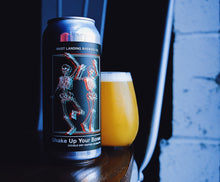 Load image into Gallery viewer, Can of Mast Landing shake up your bones double ipa