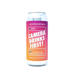 Can of Mast Landing camera drinks first