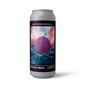 Electric Skies - Triple Dry Hopped Double IPA - 8% ABV