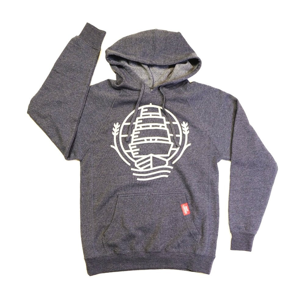 Mast landing hooded sweatshirt
