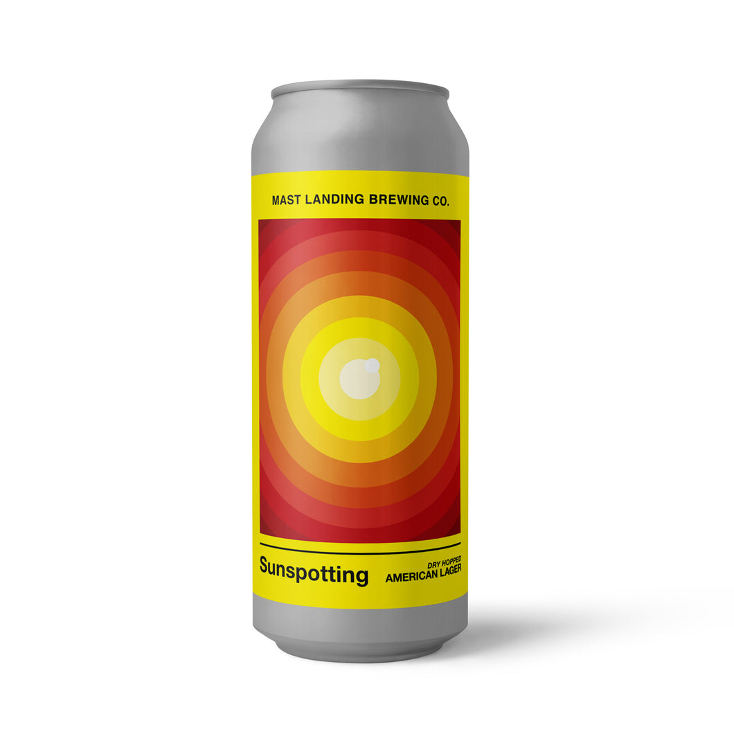 Sunspotting - Dry Hopped American Lager - 4.7% ABV
