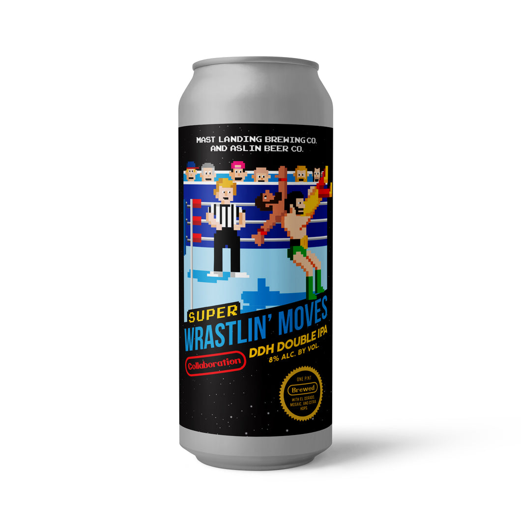 Super Wrastlin' Moves - DDH Double IPA - 8.1% ABV