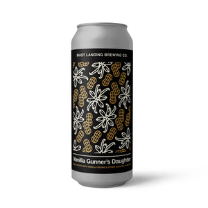 Vanilla Gunners Daughter - Milk Stout with Vanilla Beans and Other Natural Flavors - 5.5% ABV