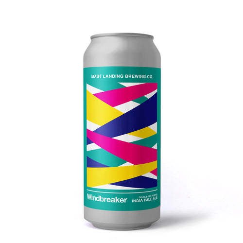 Can of Mast Landing windbreaker ipa