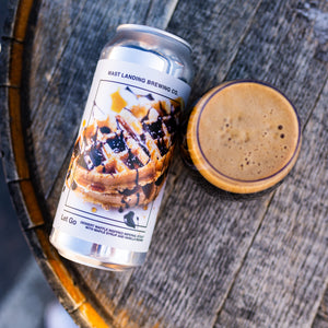 Let Go - Dessert Waffle Inspired Imperial Stout with Maple Syrup and Vanilla Beans - 9.2%ABV
