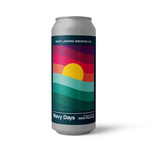 Can of Mast Landing wavy days ipa