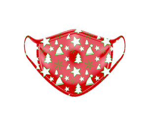 Red Christmas Mask 3 Pack