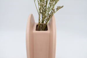 Palette Party Lantern Vase in Salmon