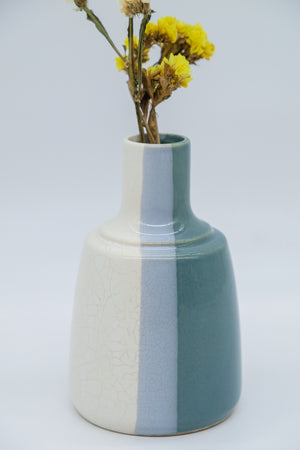 Palette Party Vase in Tricolor