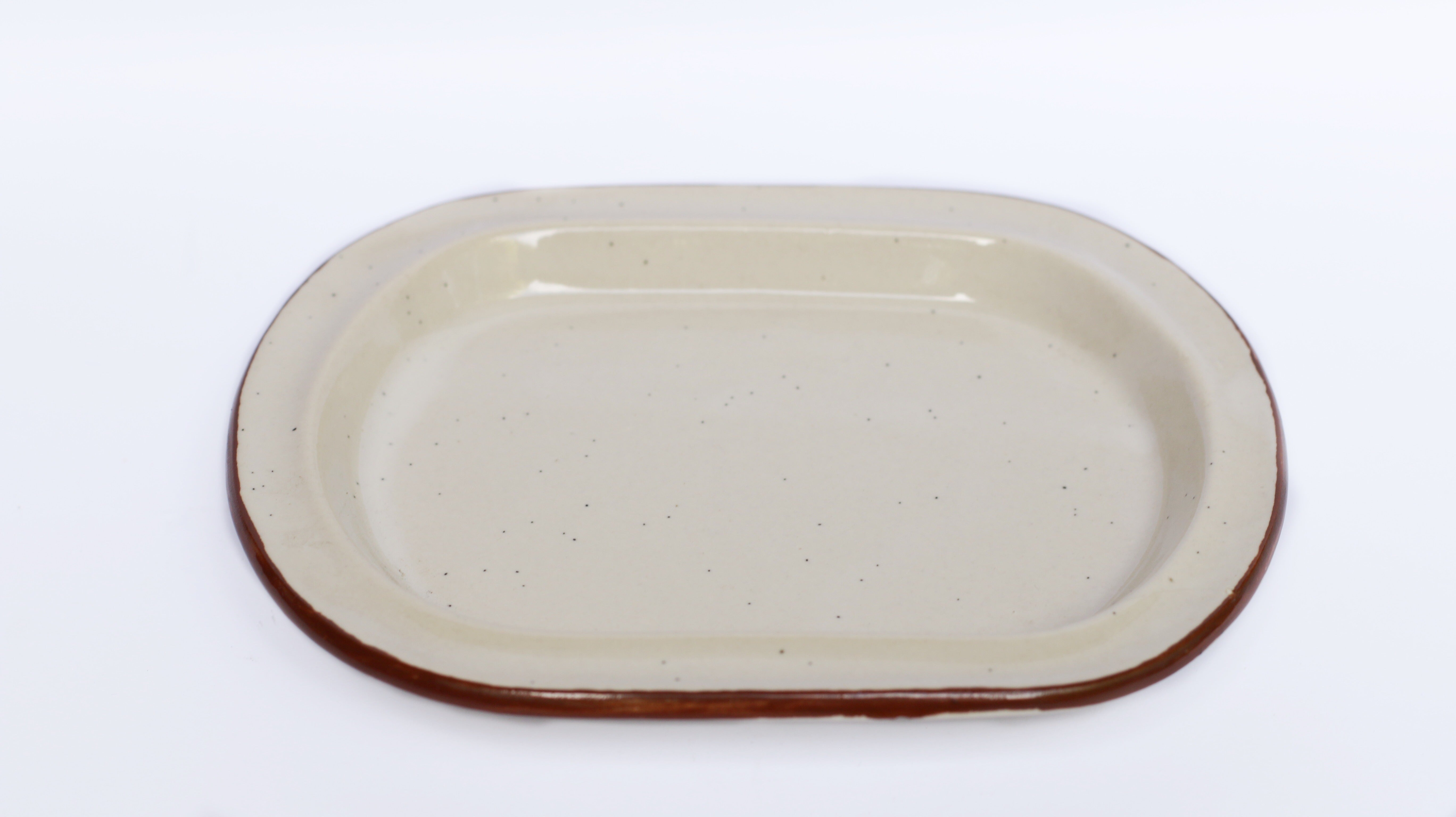 Toasted & Brewed Oval Dish