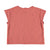 Baby buttoned t'shirt | red