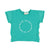 Baby logo t-shirt | green