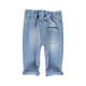 Baby Unisex trousers | washed blue jeans