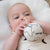 Globe Rattle | Organic cotton