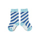Socks | blue diagonal stripes