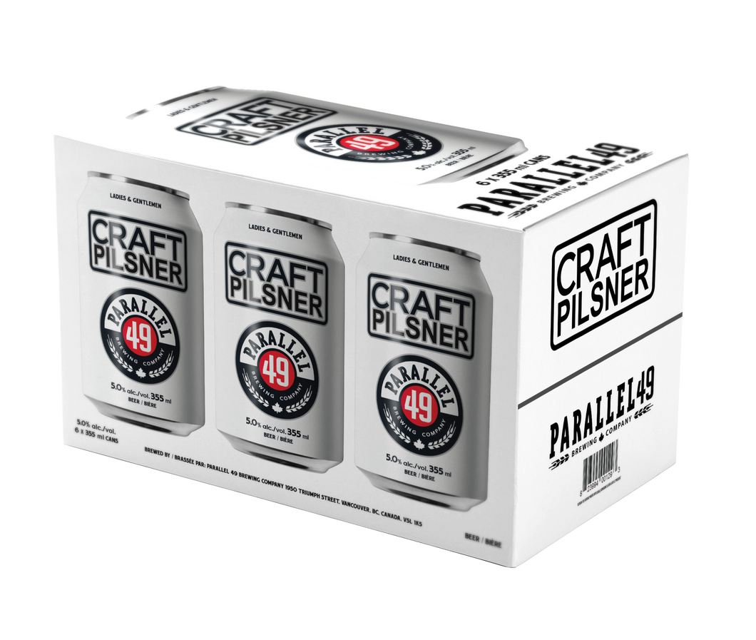 Craft Pilsner 355ml 6 Pack