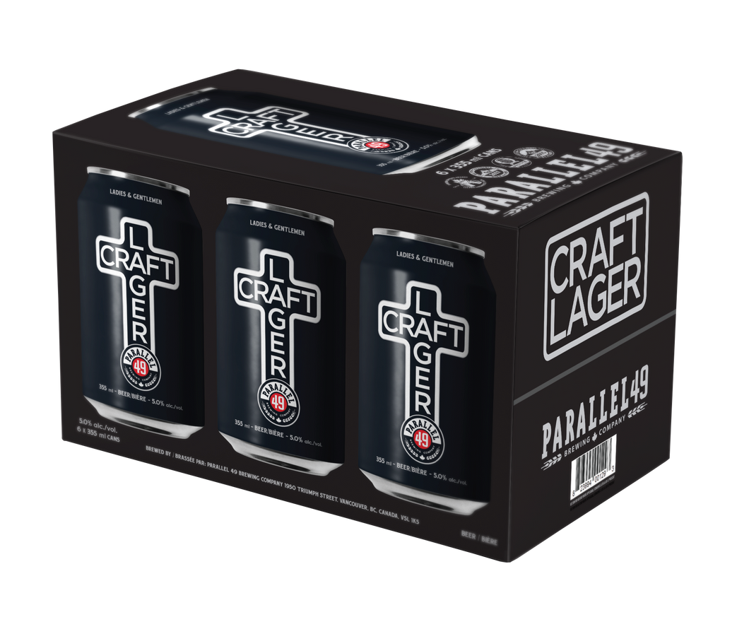 Craft Lager 355ml 6 Pack