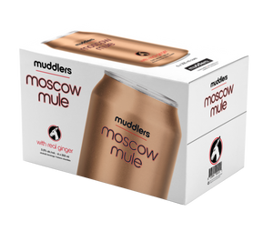 Muddlers Moscow Mule 355ml 6 Pack