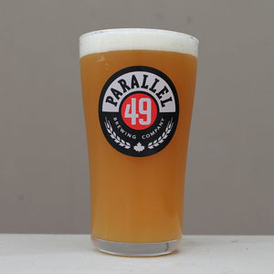 Parallel 49 Logo Pint Glass