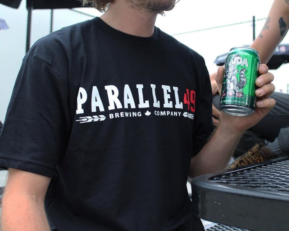 Parallel 49 Horizontal Logo T-Shirt