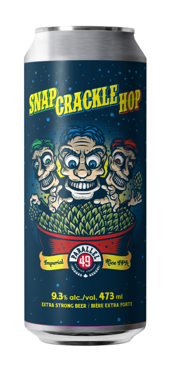 Snap, Crackle, Hop Imperial Rice IPA 473ml Single