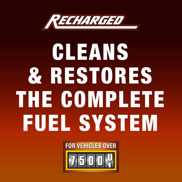 Slick 50 Recharged High Mileage Fuel System Treatment 16 oz