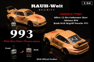 Idlers car RWB Adriana *PREORDER EXCLUSIVE*
