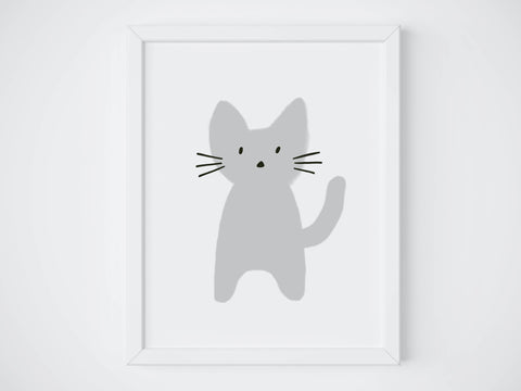 Cat II Art Print - 11 x 14
