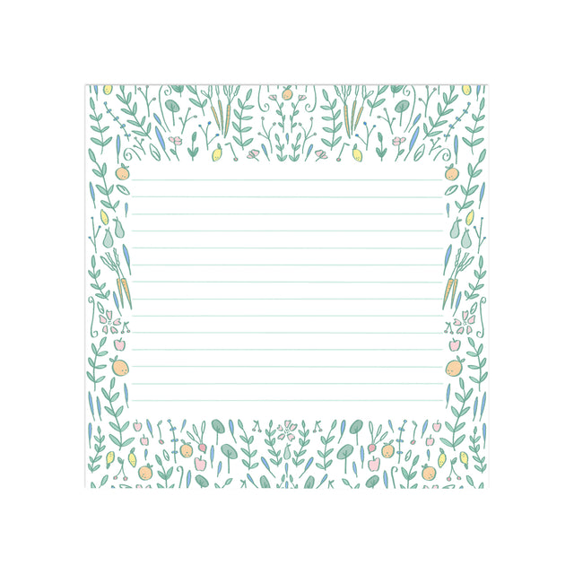 Fruit Garden Floral Desk Pad