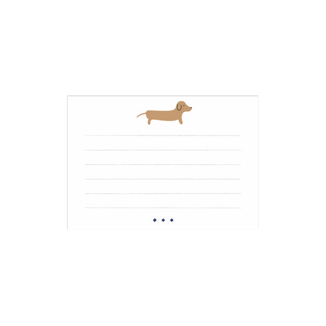 Dachshund Fancy Little Cards (Set of 10)