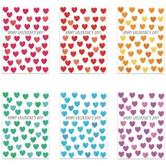Cute Hearts Fancy Little Valentines (Set of 25)