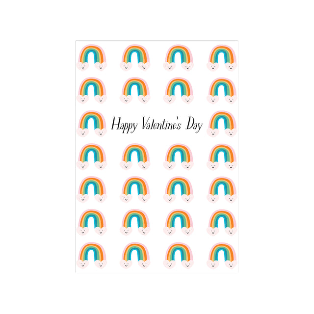 Rainbows and Love Fancy Little Valentines (Set of 25)