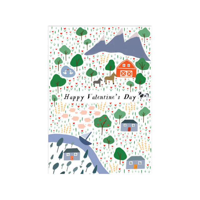 Countryside Fancy Little Valentines (Set of 25)