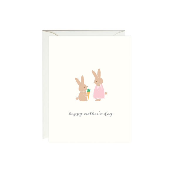 Happy Mother's Day Bunny Card