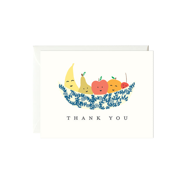 Fruit Bowl Thank You Card
