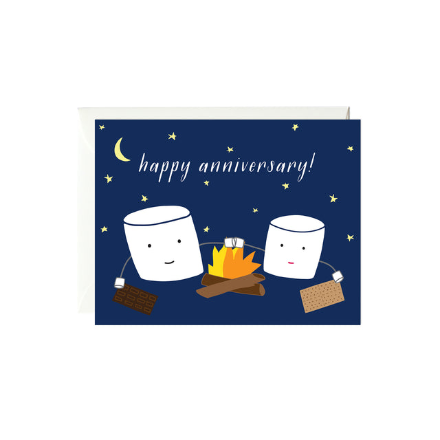 Marshmallows Anniversary Card