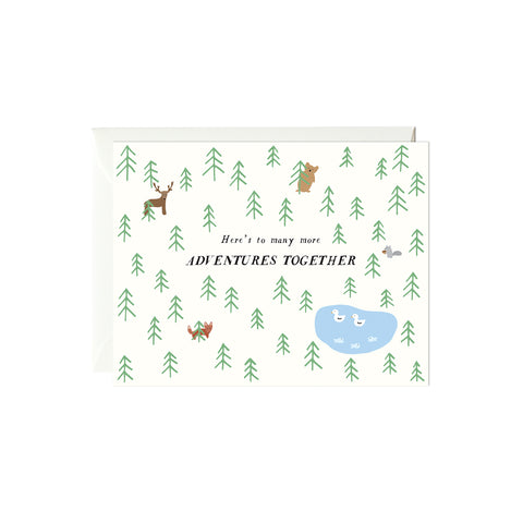 Outdoors Adventures Card