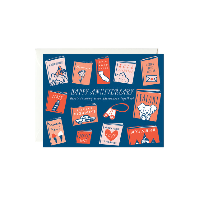 Anniversary Books Card