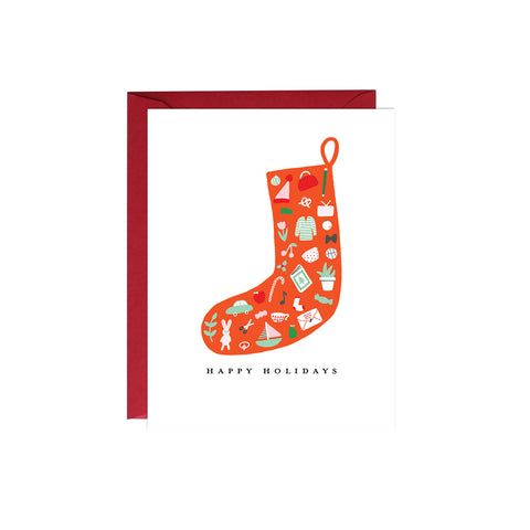 Stocking Holiday Card