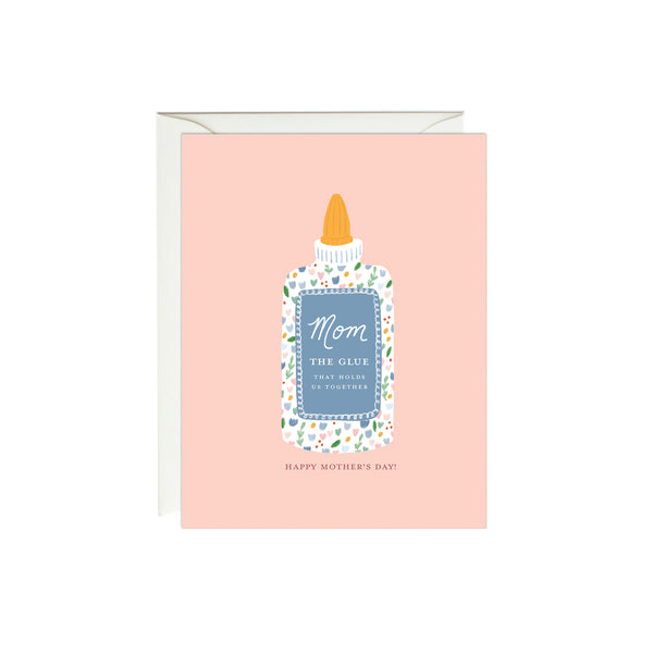 Mother's Day Glue Card