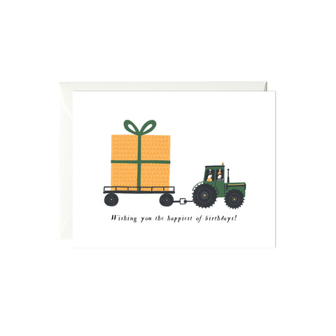 Birthday Tractor Birthday Card