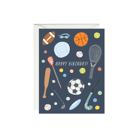 Birthday Sports Birthday Card