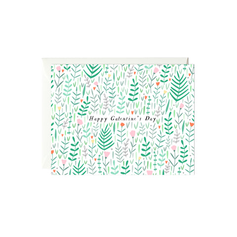 Galentine's Day Floral Card