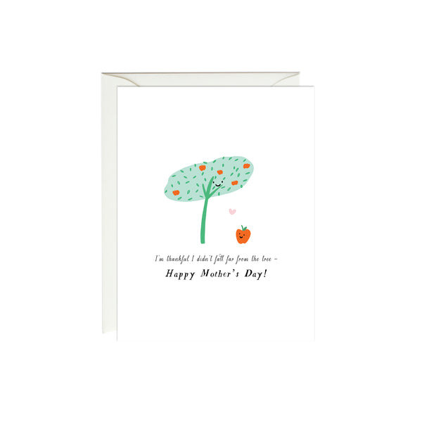 Mother's Day Apple Tree Card
