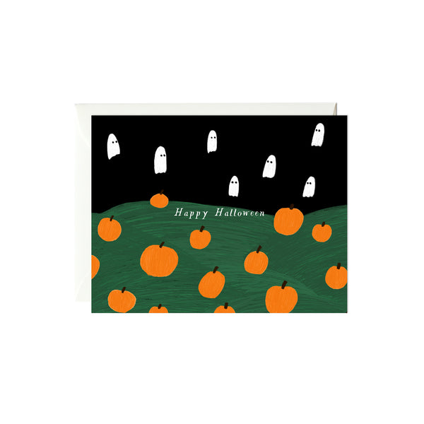 Pumpkin Patch Halloween Card