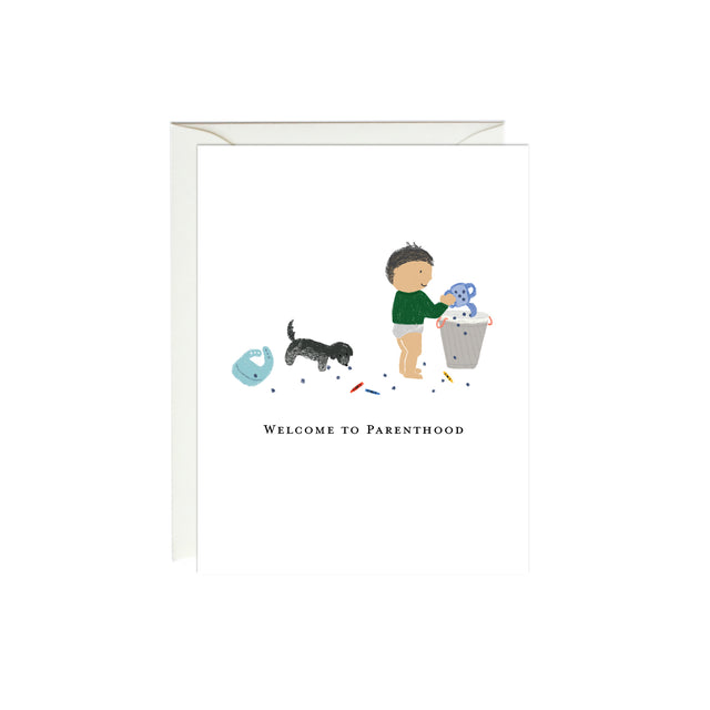 Welcome to Parenthood Baby Card