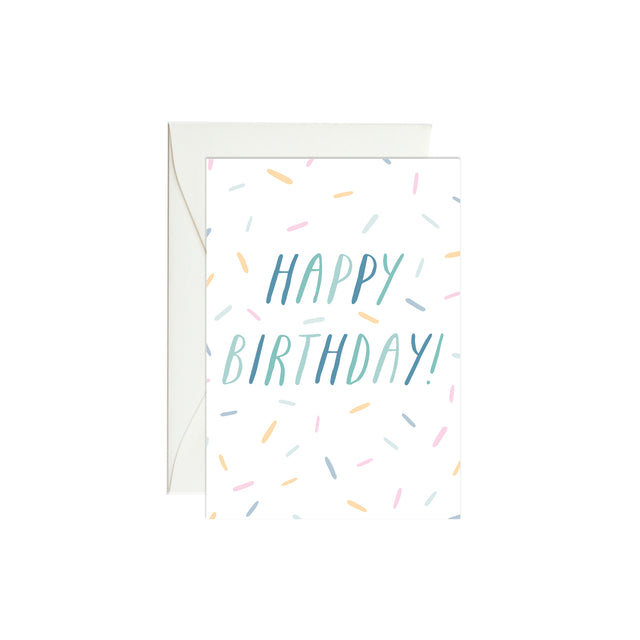 Birthday Confetti Mini Enclosure Card